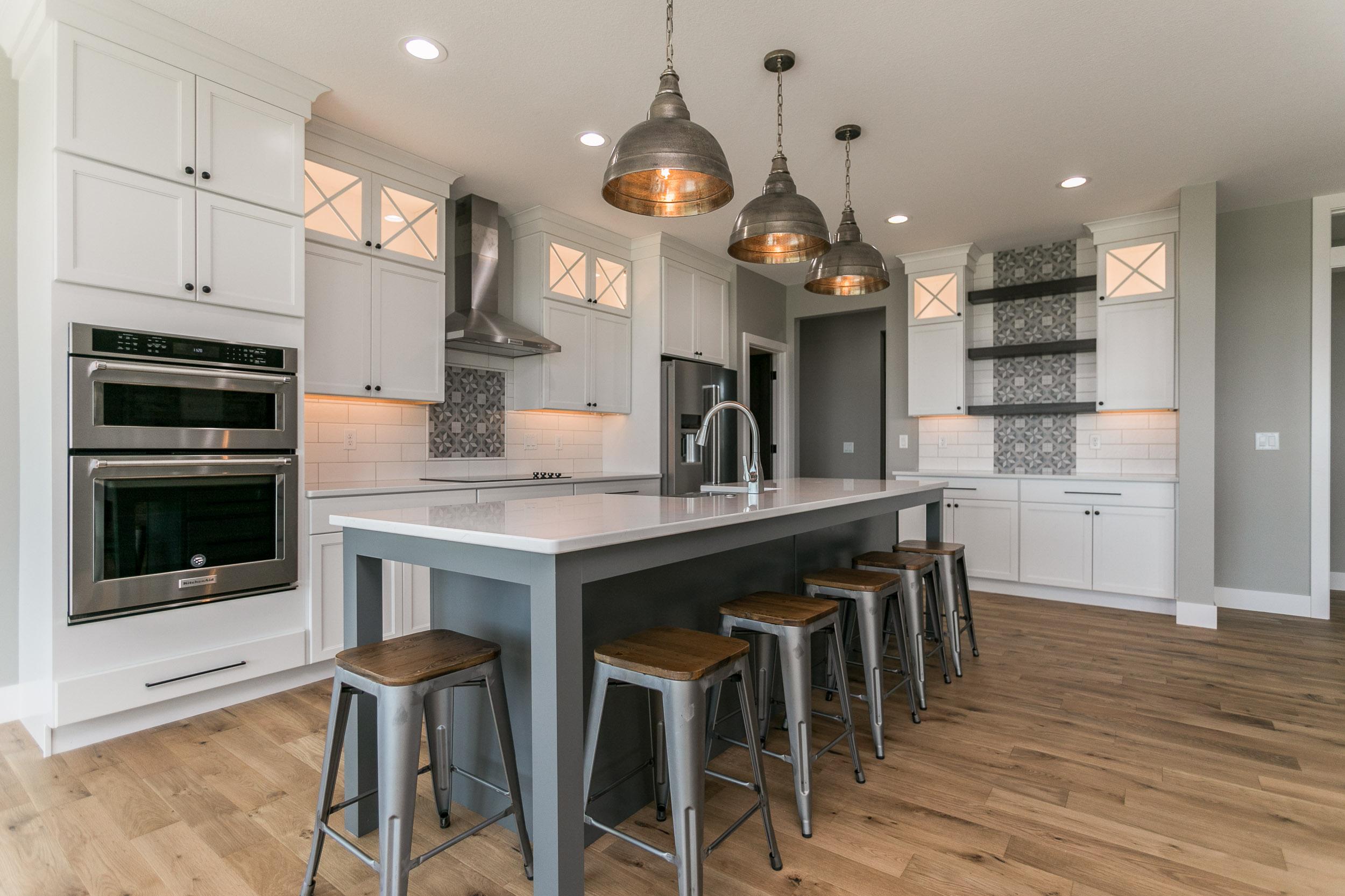 Custom gourmet kitchens