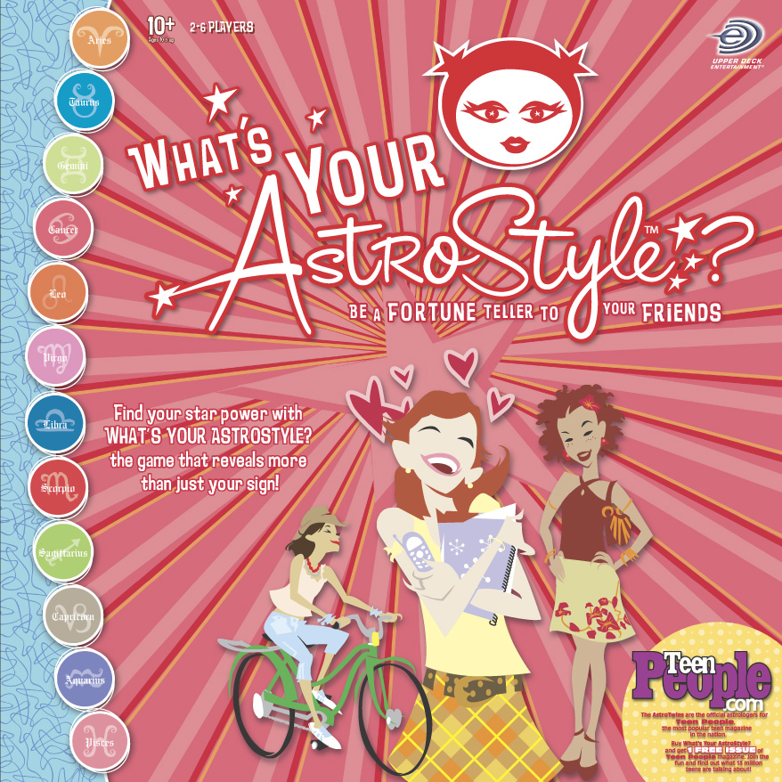 AstroStyle board game