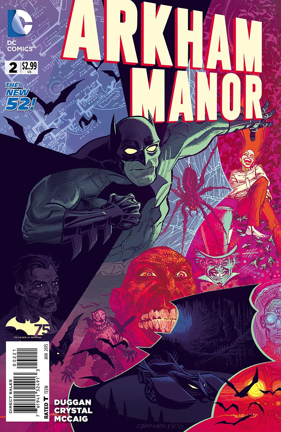 Arkham Manor #2 variant