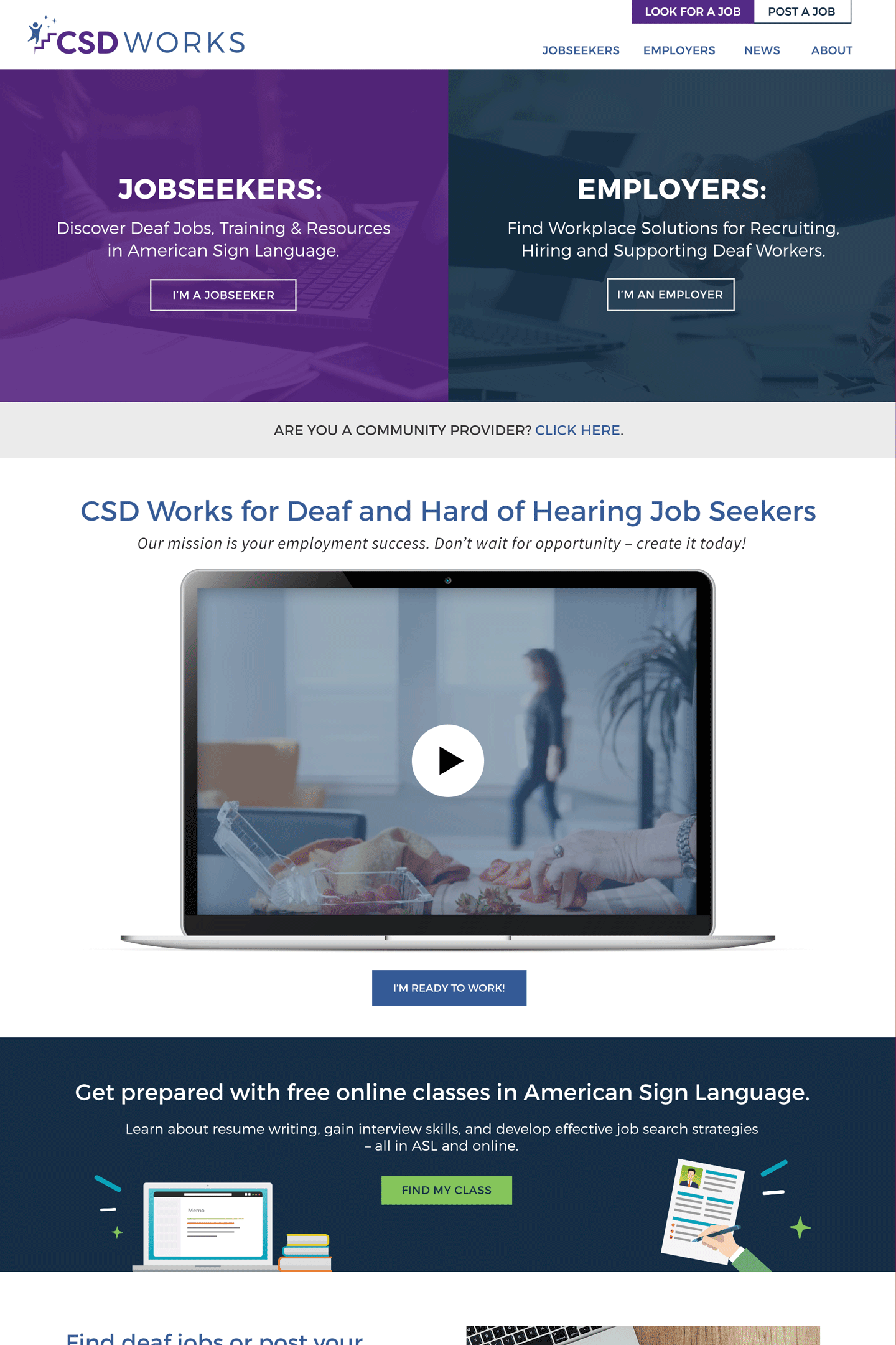 CSD Works Website
