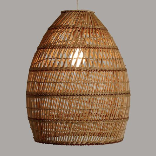Basket Weave Pendant Shade