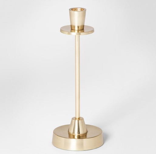 Gold Modern Candle Holder