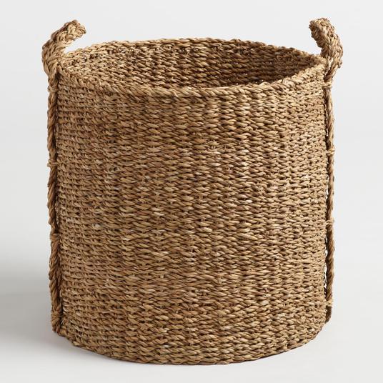 World Market Seagrass Basket