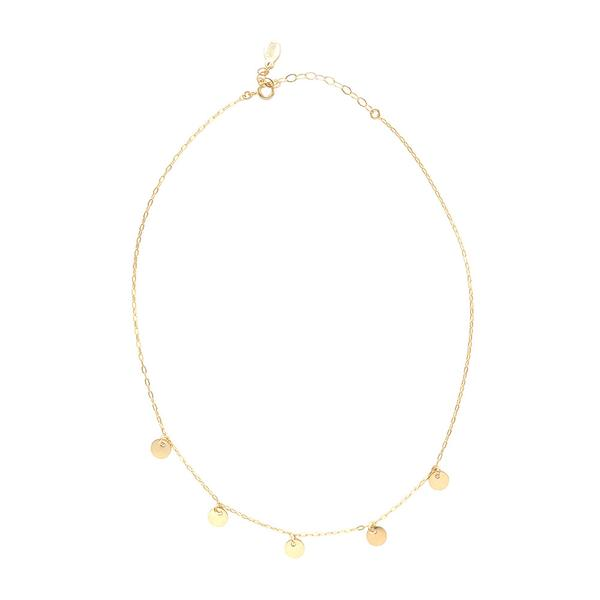 Marida Jewelry Madrid Coins Delicate Choker