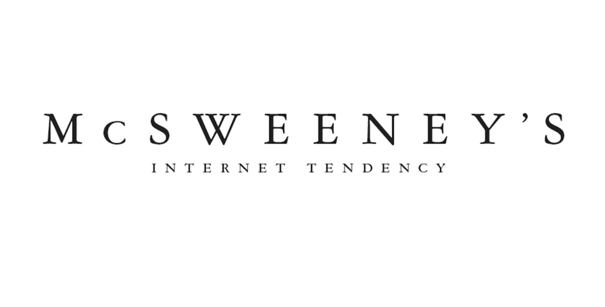 McSweeney's Internet Tendency
