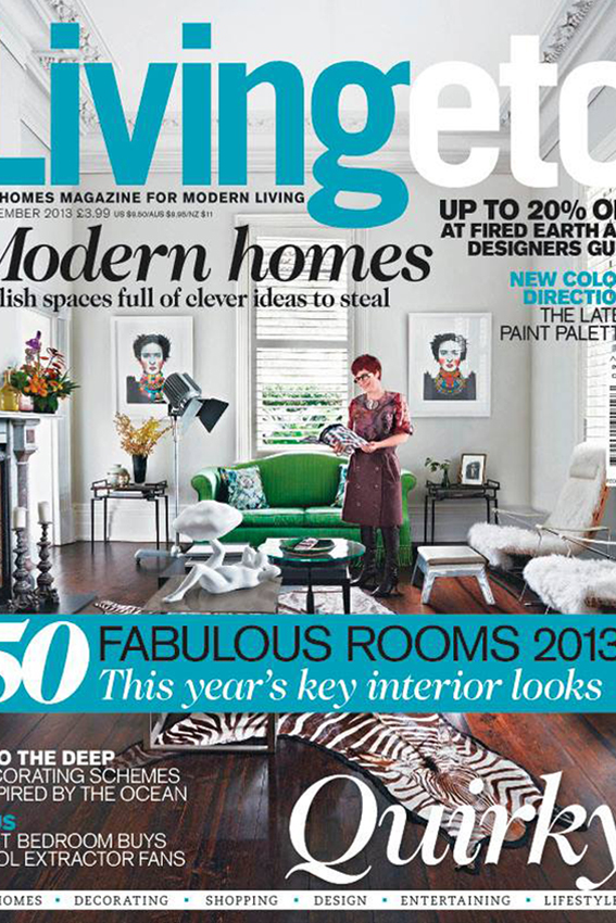 Sept 2013                 Living etc