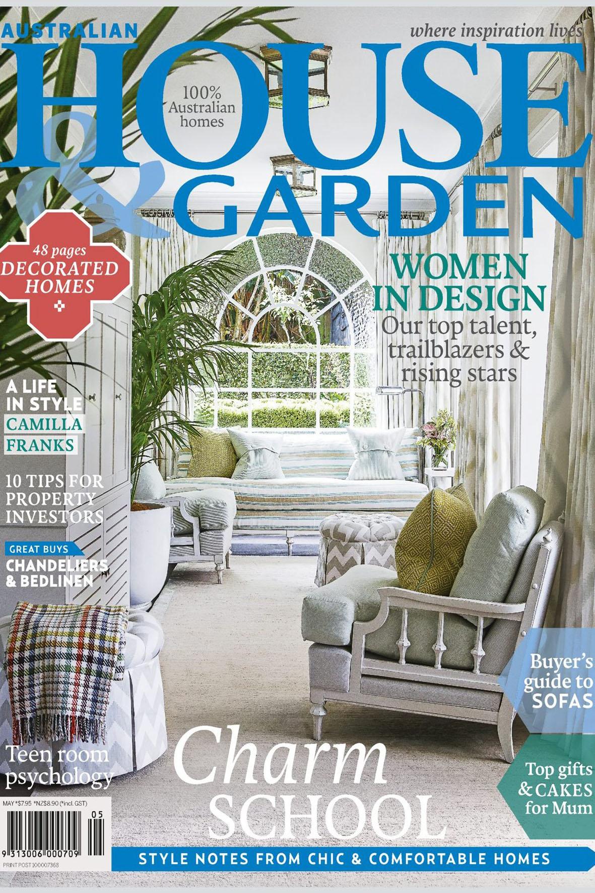 May2015         House & Garden