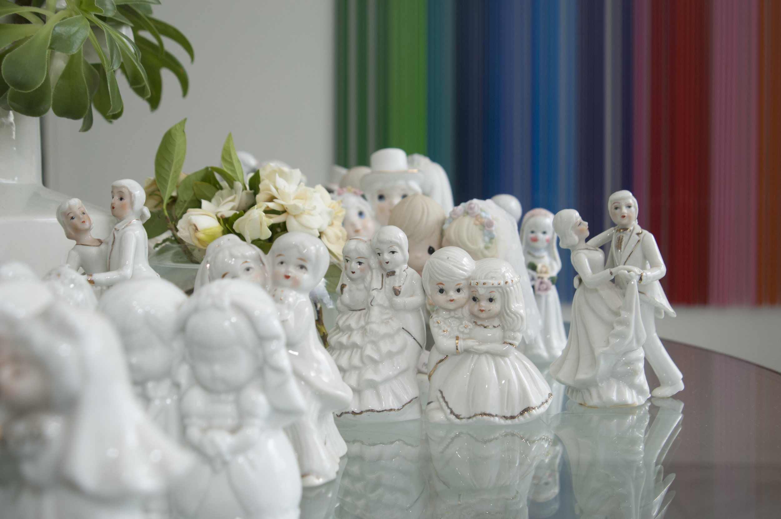 Suzie Stanford's collection of cake toppers