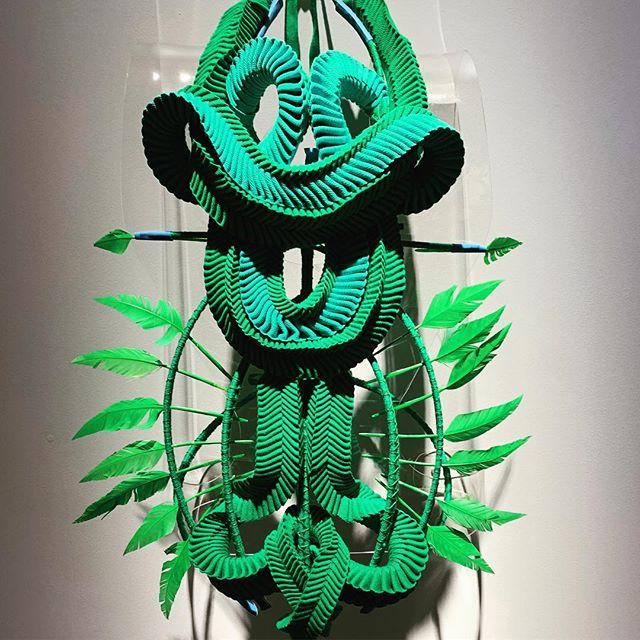 #museumofbrisbane #dresscode #gracelillianlee stunning form and colour