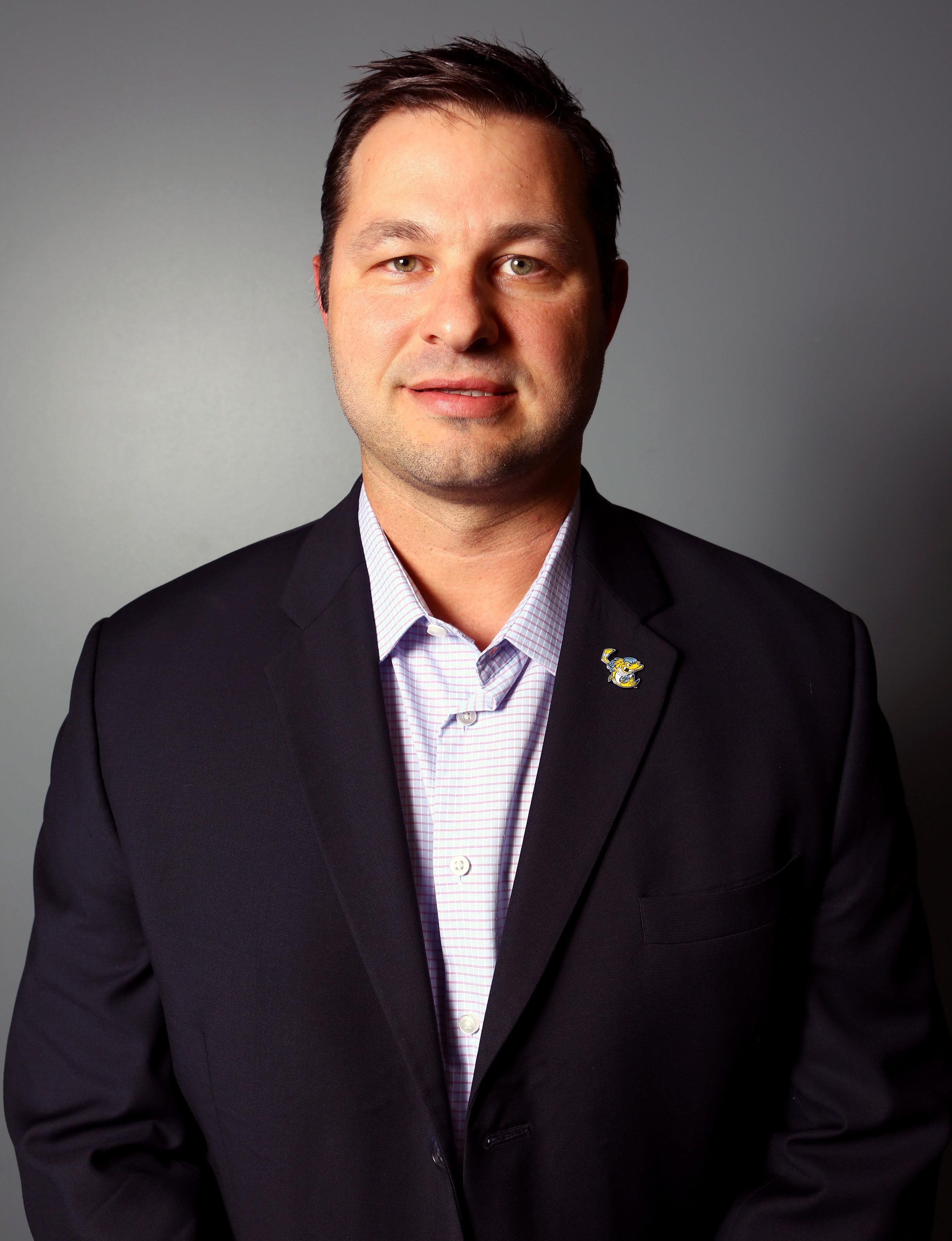 Head coach of the Toledo Walleye Dan Watson