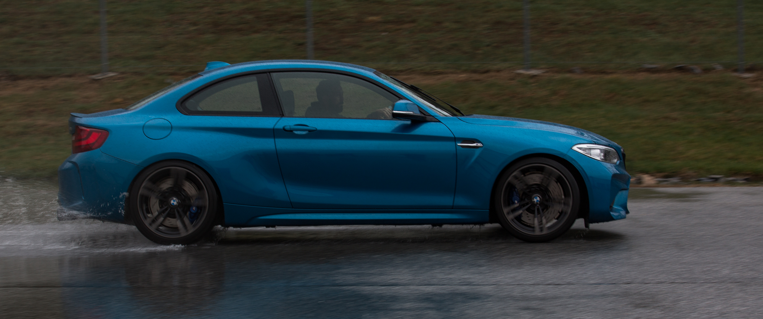 The owner was more than happy to show us the performance capabilities of BMW's newest M-Powered model.