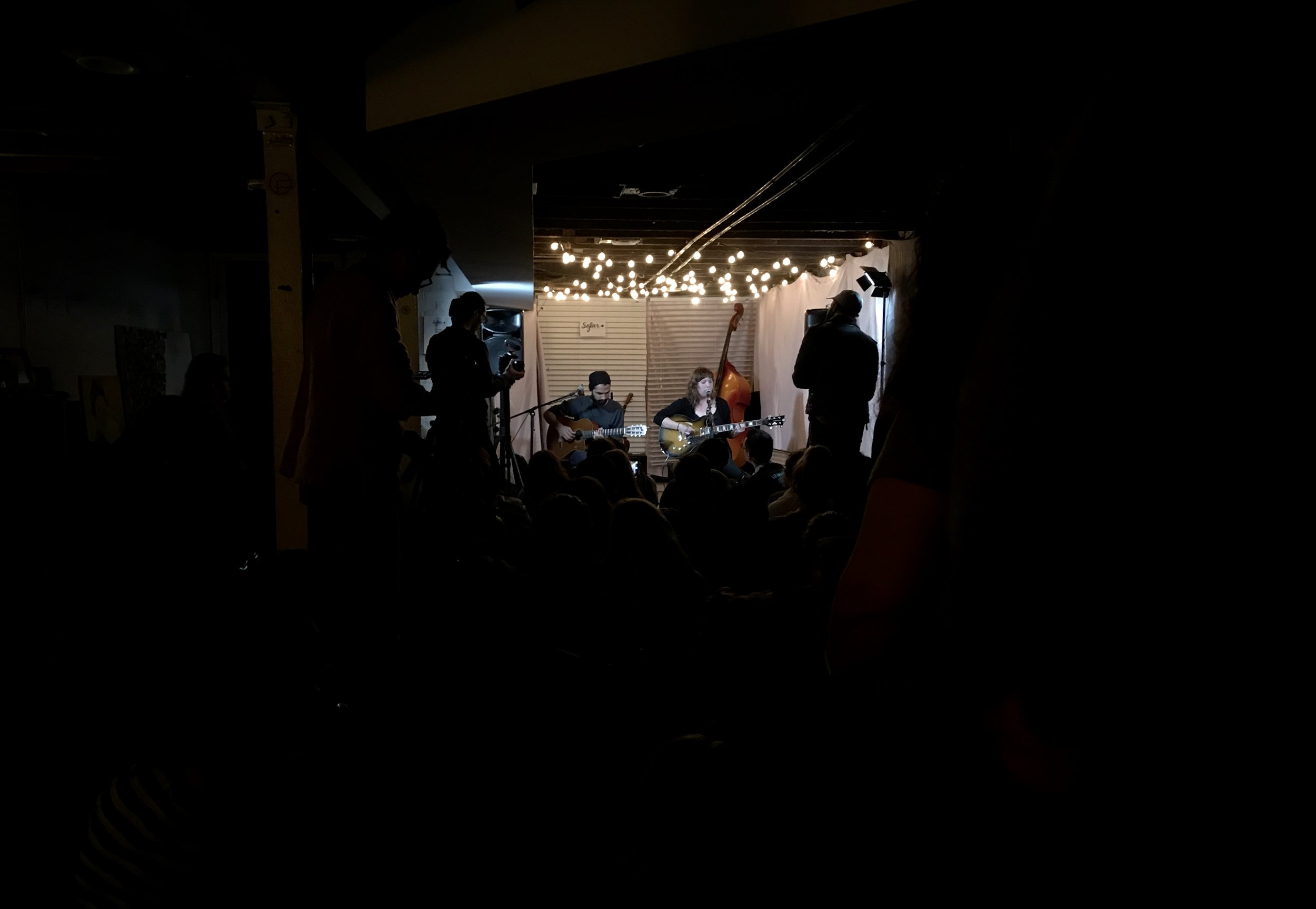 Pittsburgh native band Seaoffs performing in a basement for SoFar DC. Shot on my iPhone7.