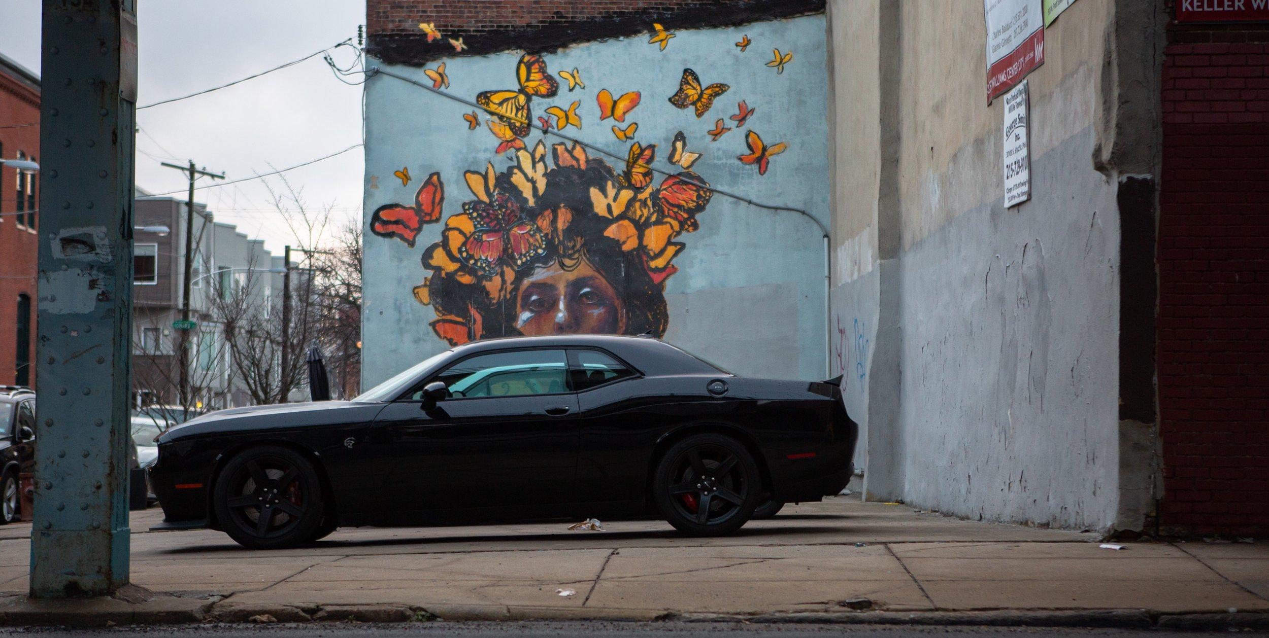 Dodge Challenger Hellcat   Fishtown  Philadelphia