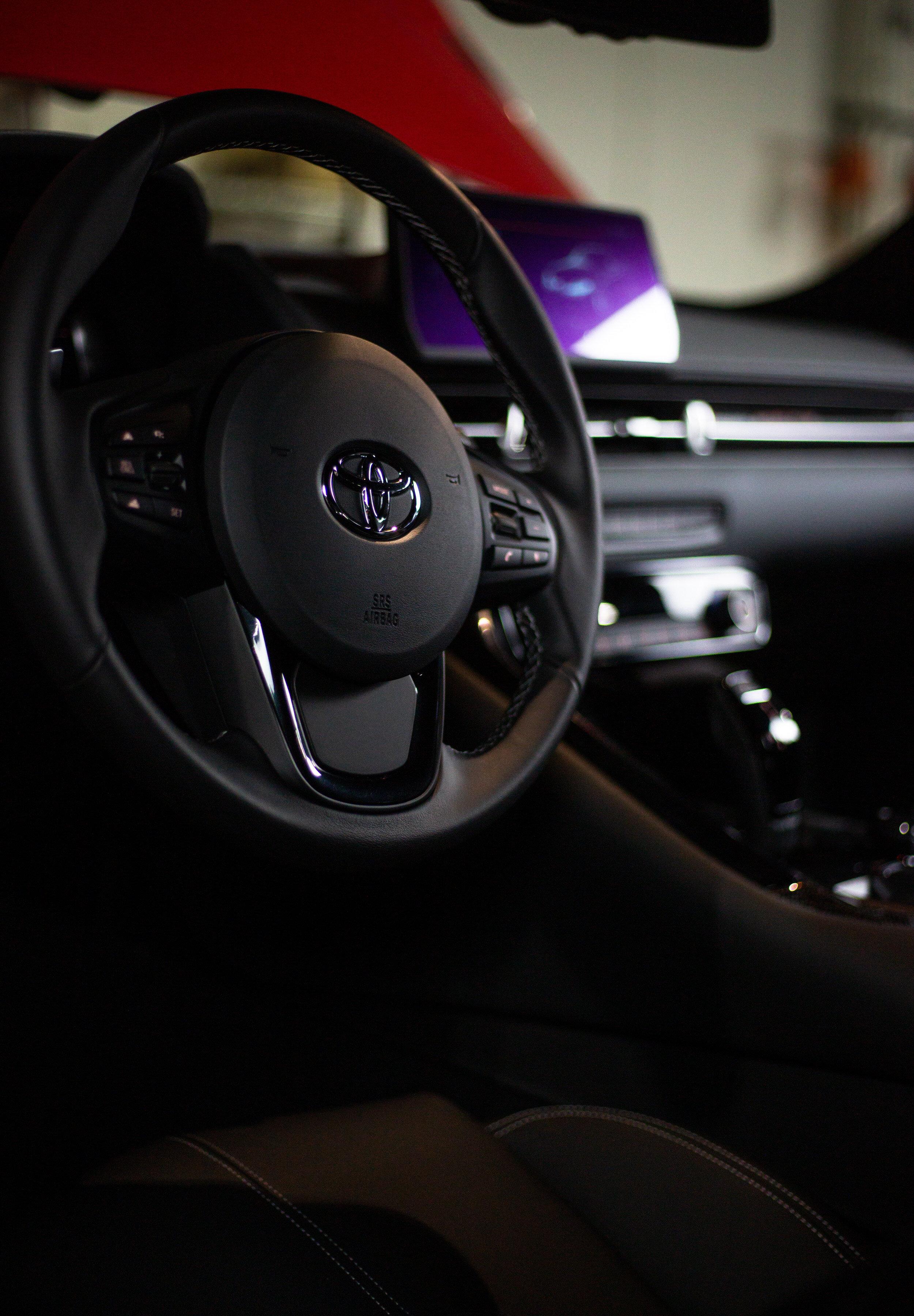 2020 Toyota Supra Interior Details  Mishimoto  Canon 5DMkIII