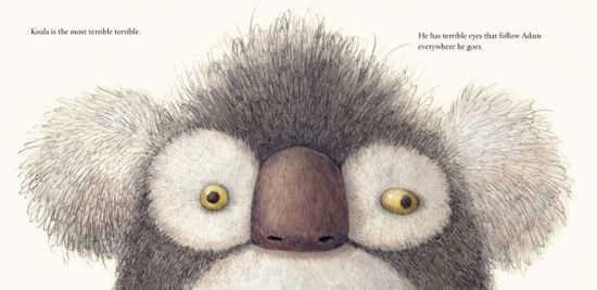 I Don't Like Koala  by Sean Ferrell. A kid tries to do away with a weird stuffed animal. Ages 2-8.
