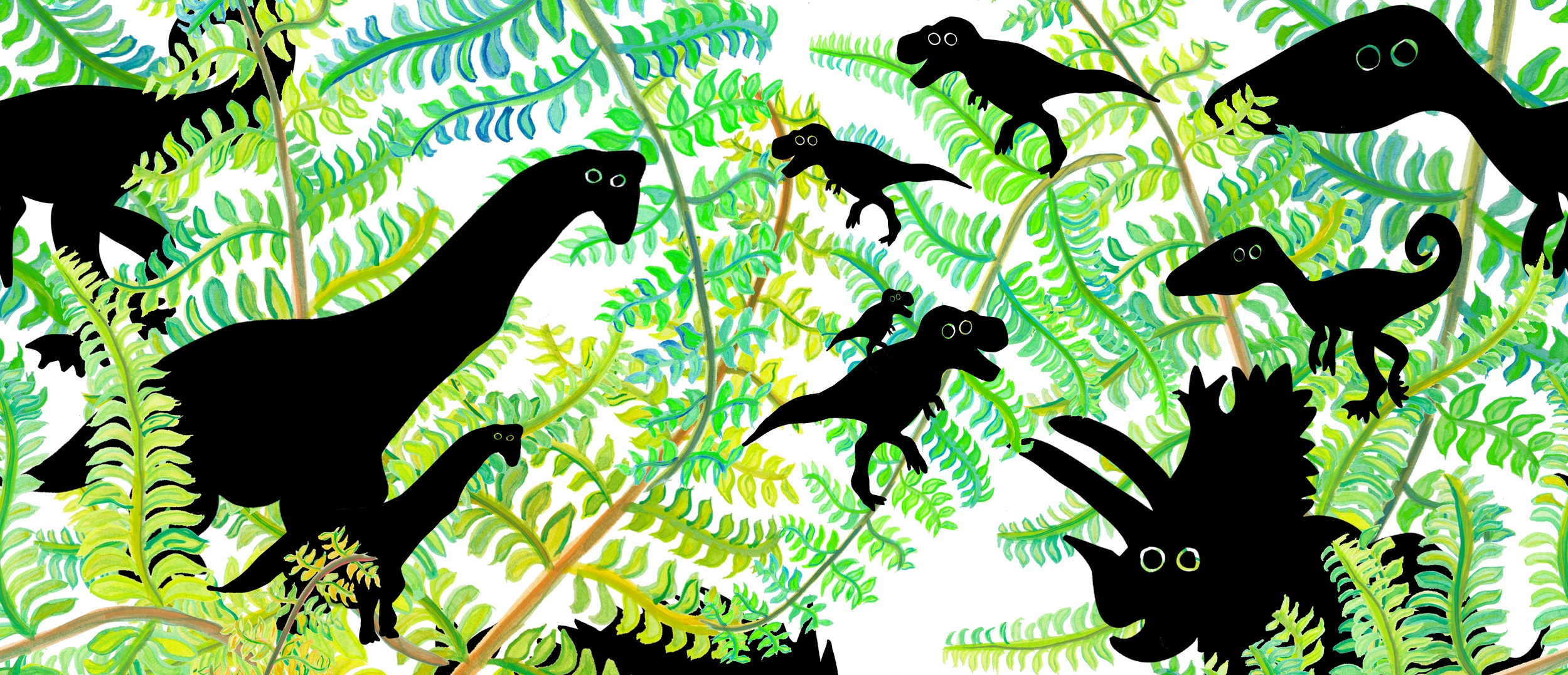 DinoPrintTRexBabies.jpg