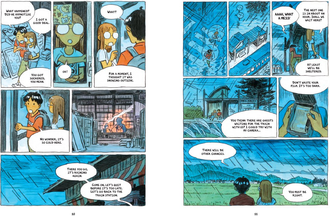 From  Onibi: Diary of a Yokai Ghost Hunter