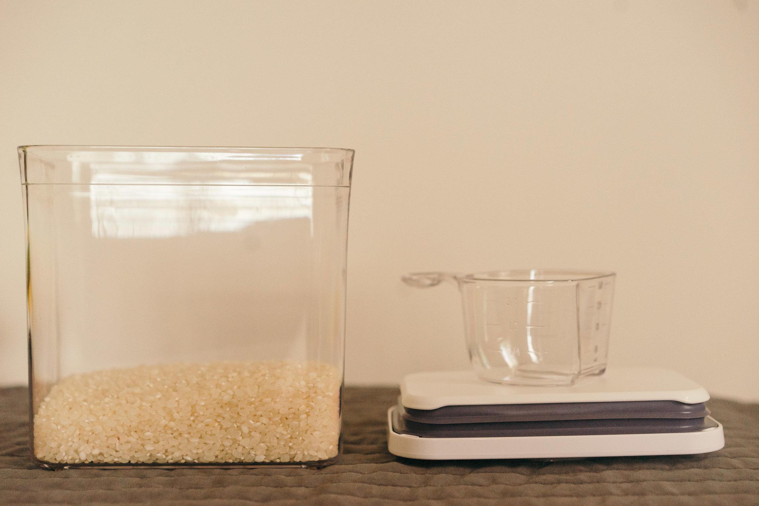 還可以兼具量杯刻度功能的勺子