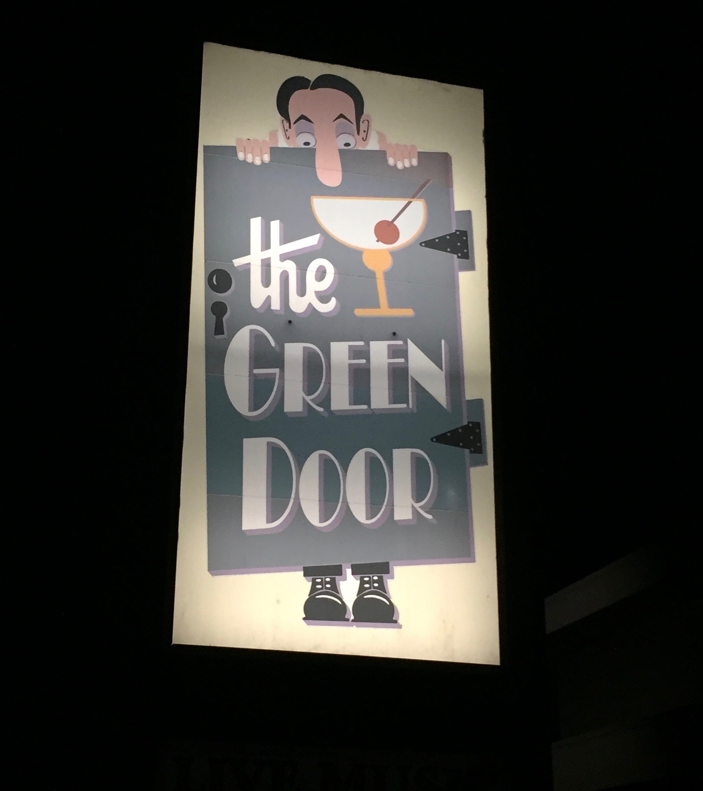 The legendary Green Door, Napa