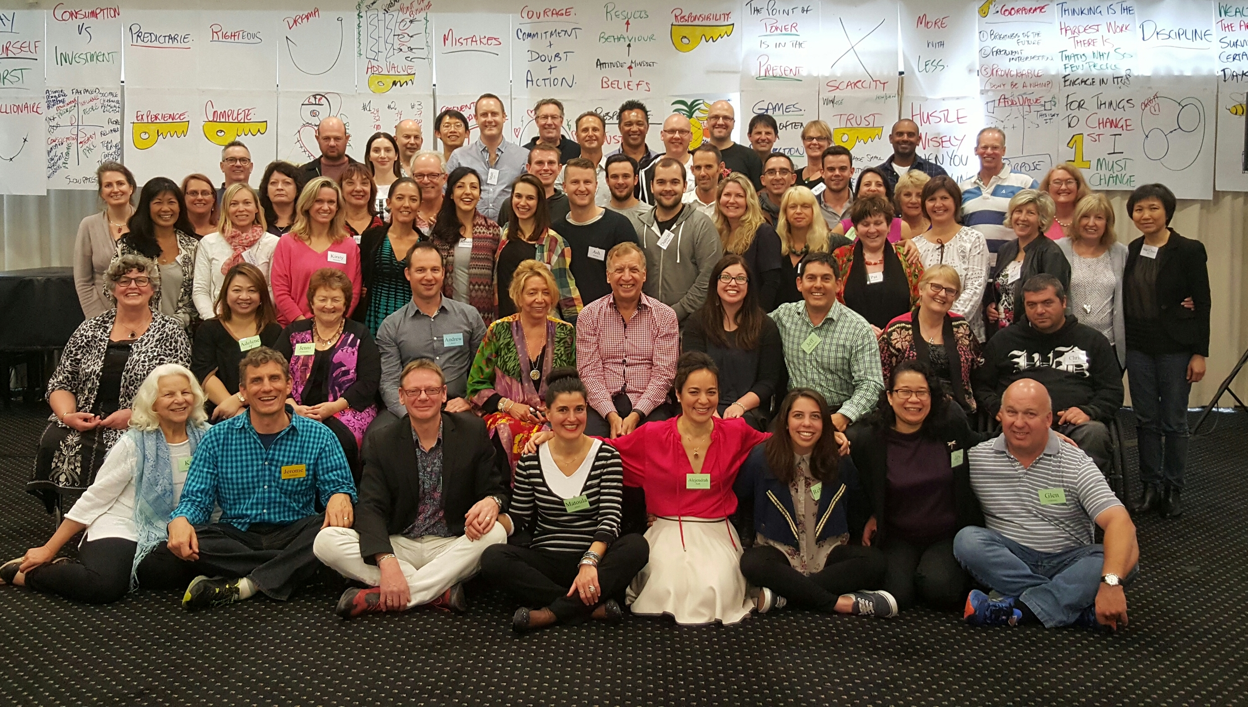 Graduates of Money & You® Auckland, November 2015