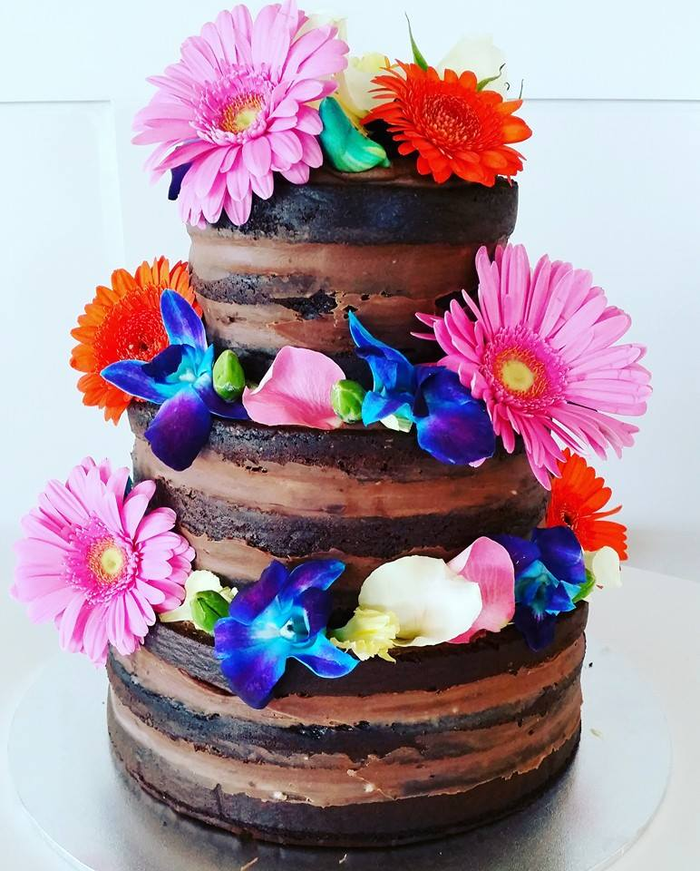 Chocolate Naked Cake