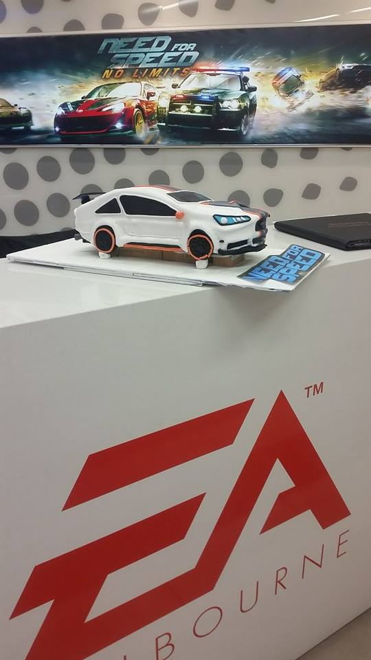 EA Games Cake