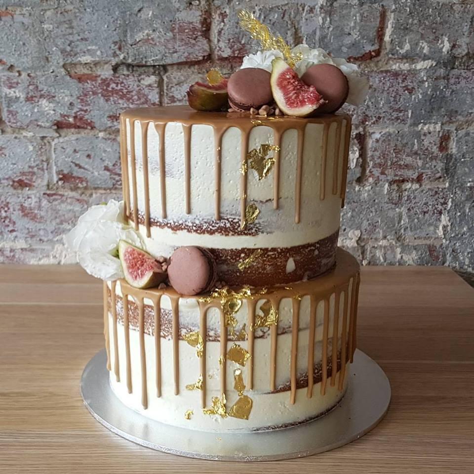 Caramel and Fig Cake