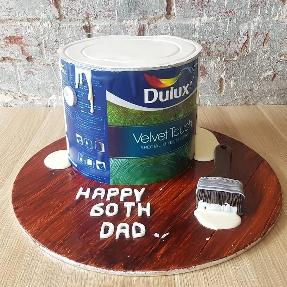 Paint Tin Cake