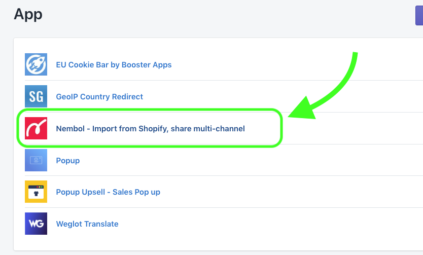 Why can't I find Nembol on Shopify App store? No problem! - Nembol