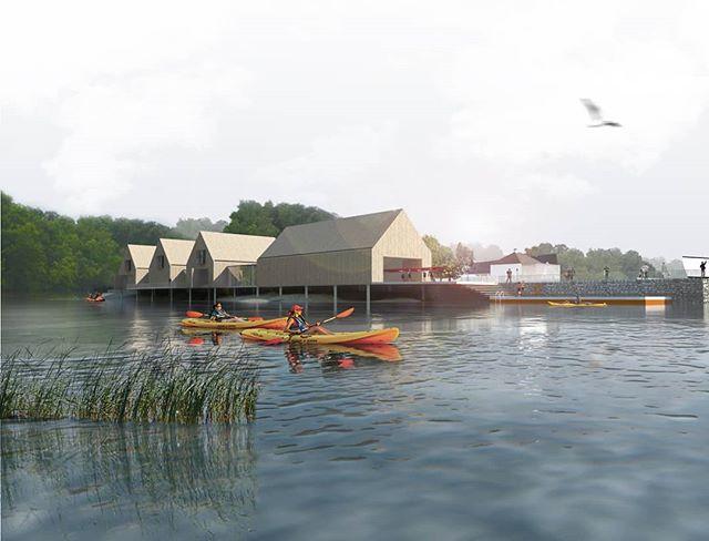 Loch Lomond Watersports Hub  Feasibility study image. www.loch-lomond-watersports-hub.org.uk . . www.marckilkenny.com . . #watersports #sport #community #nationalpark #illustration #kayak #rowing #triathlon #loch #dublinarchitects #scottisharchitecture #irisharchitecture