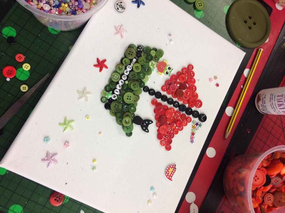 Crafts & Parties — I Heart Buttons
