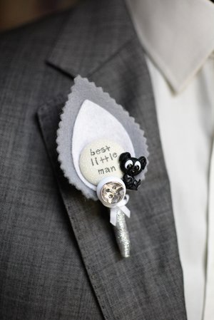 Pets Collection: Puppy Dog Eyes Wedding Children's Buttonhole — I Heart  Buttons