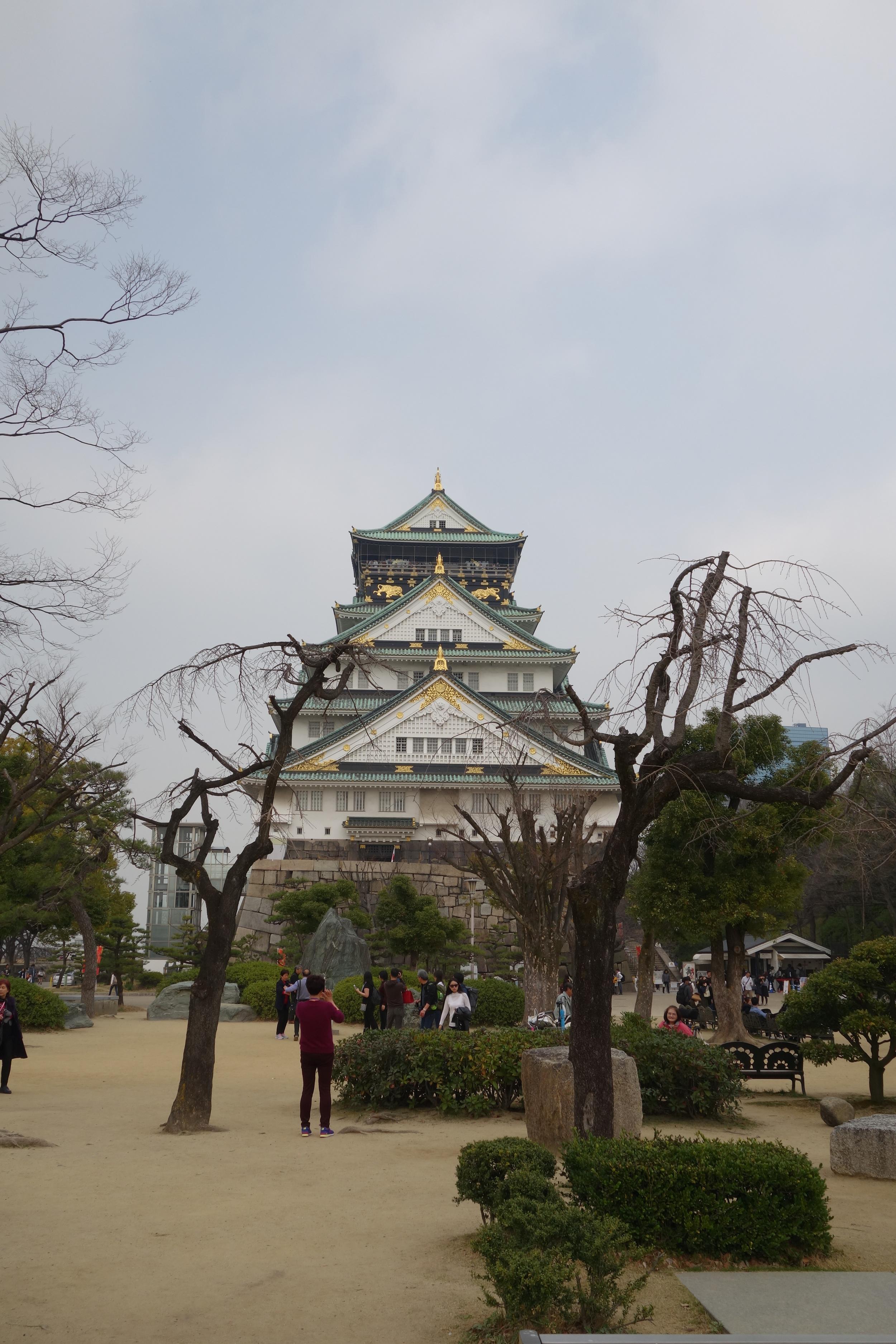 Het kasteel van Osaka