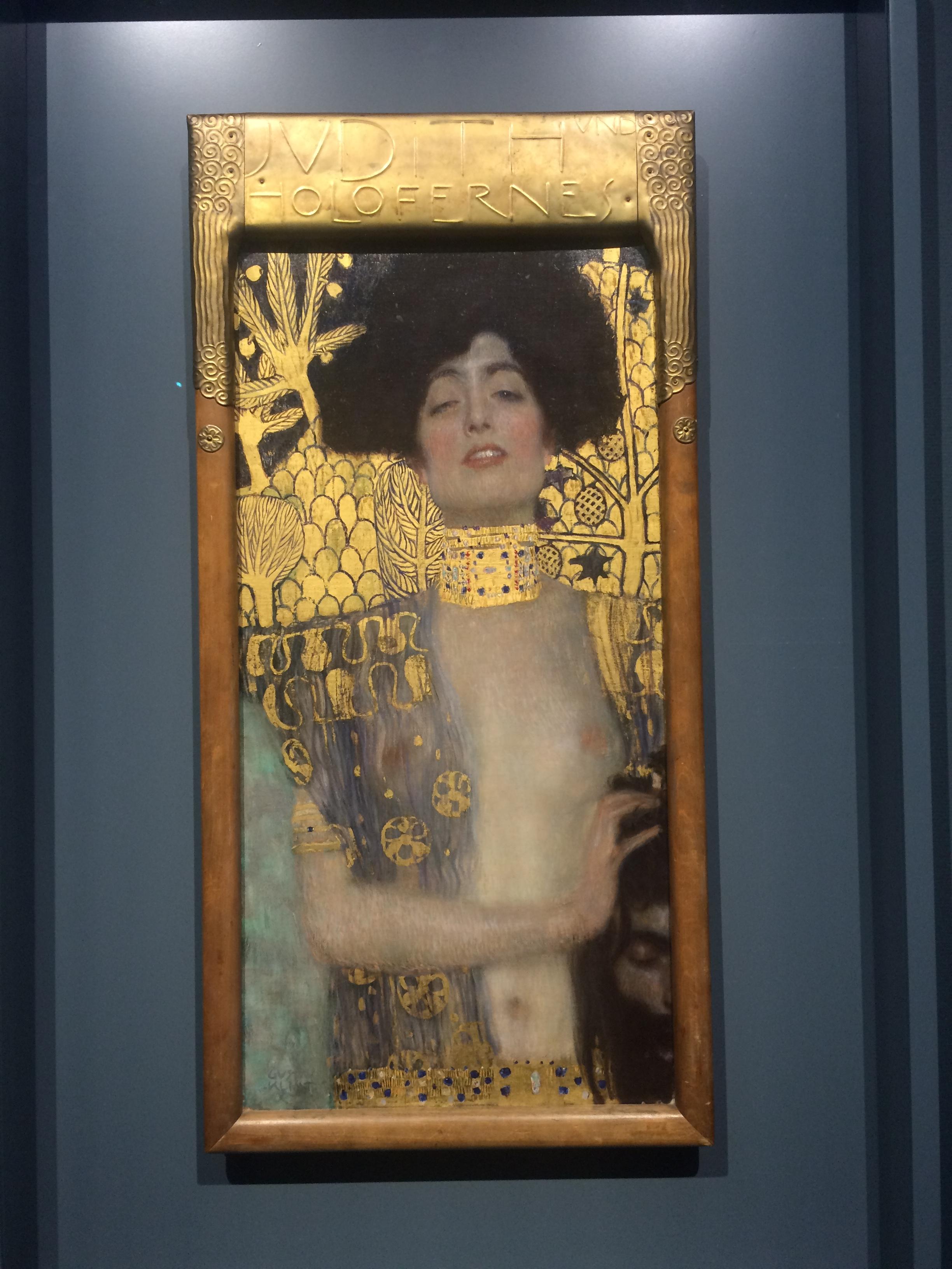 Judith I - Gustav Klimt