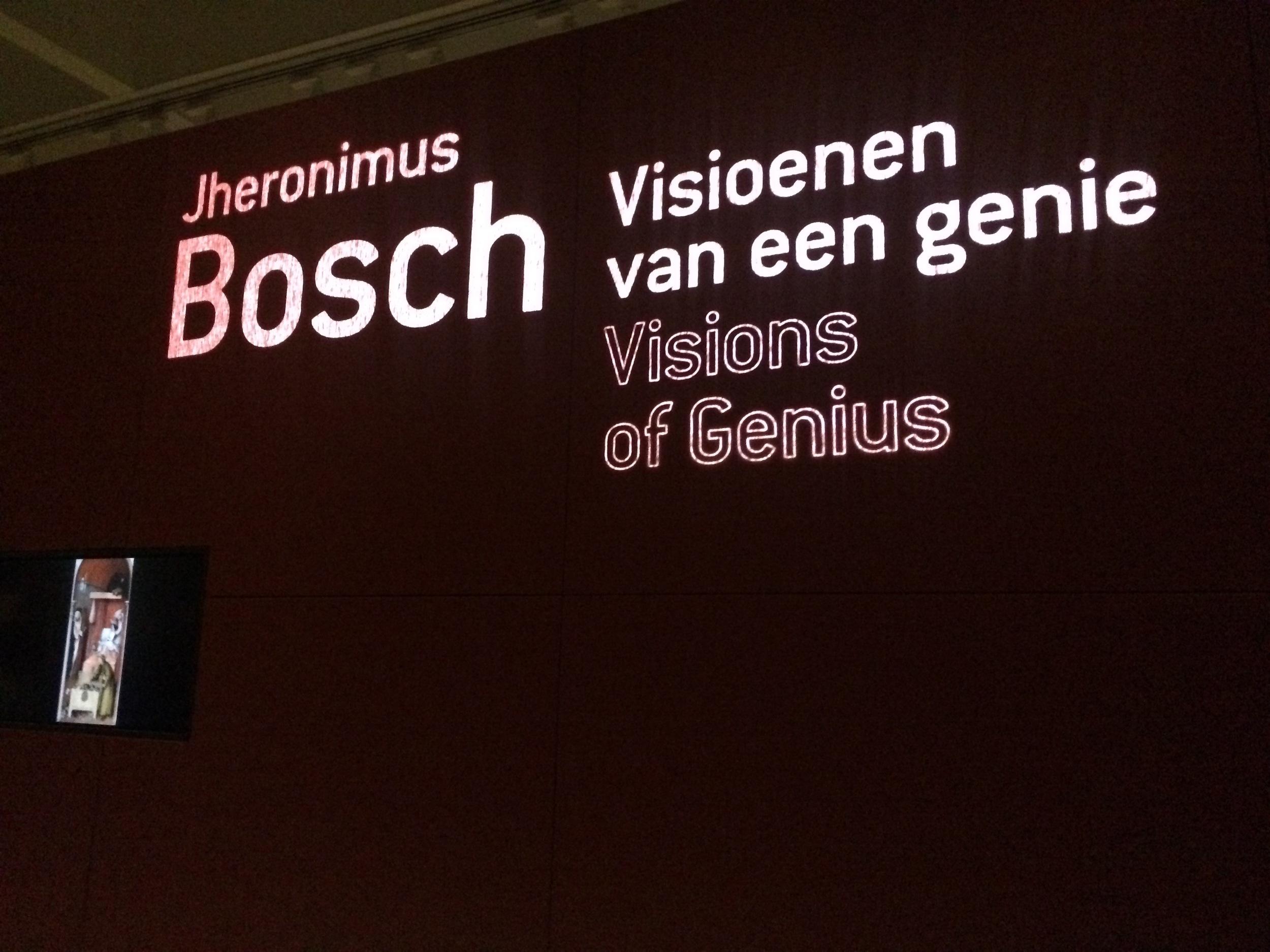 Jheronimus Bosch - visioenen van een genie