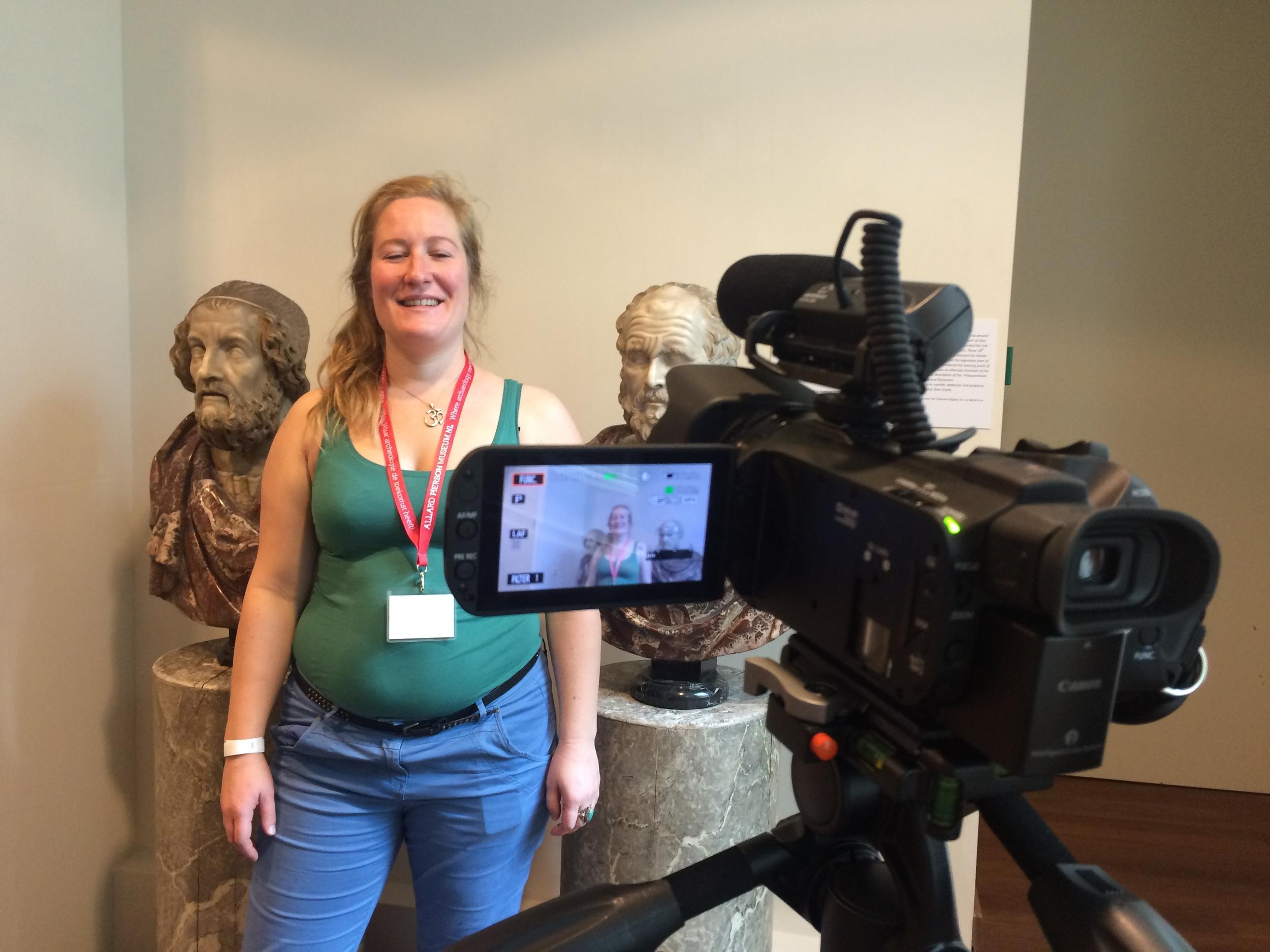 Interview voor het videoverslag