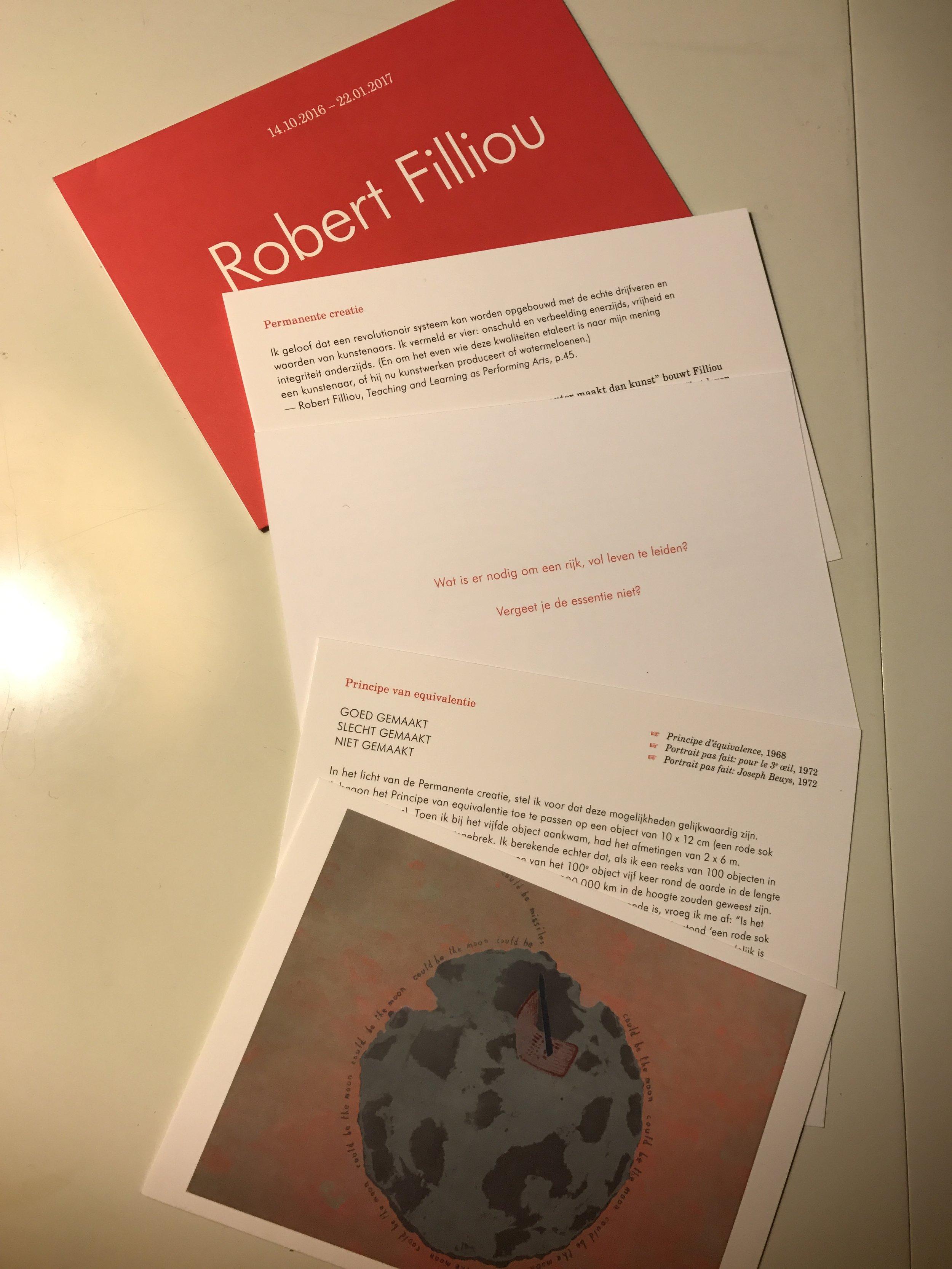 Robert Filliou, MUHKA, Antwerpen, De Museumpodcast