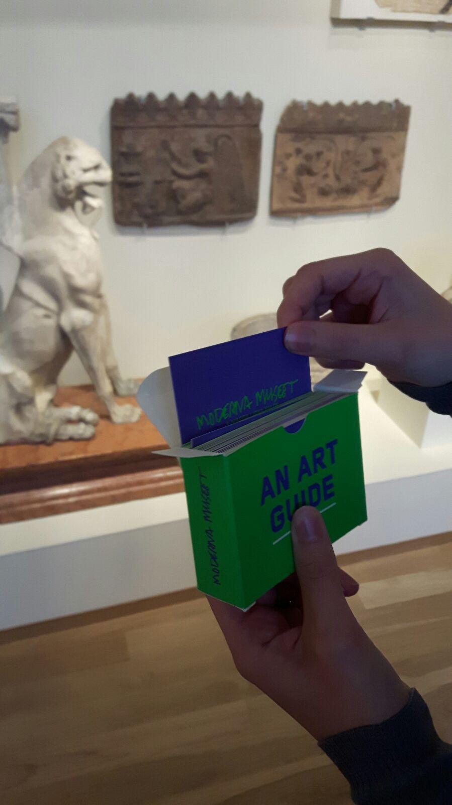 Anywhere Art Guide, De Museumpodcast