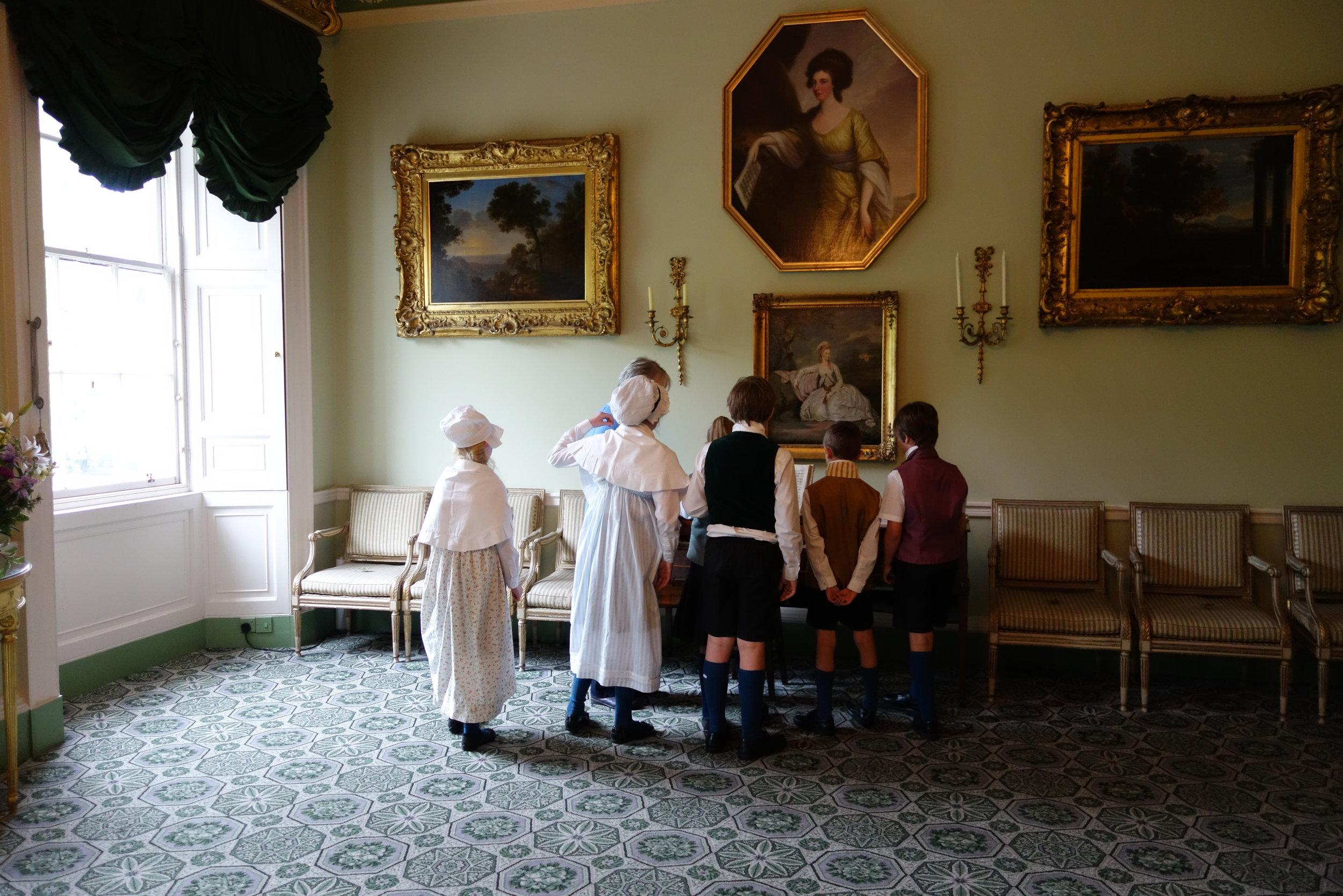 Georgian House, Edinburgh, Schotland, De Museumpodcast