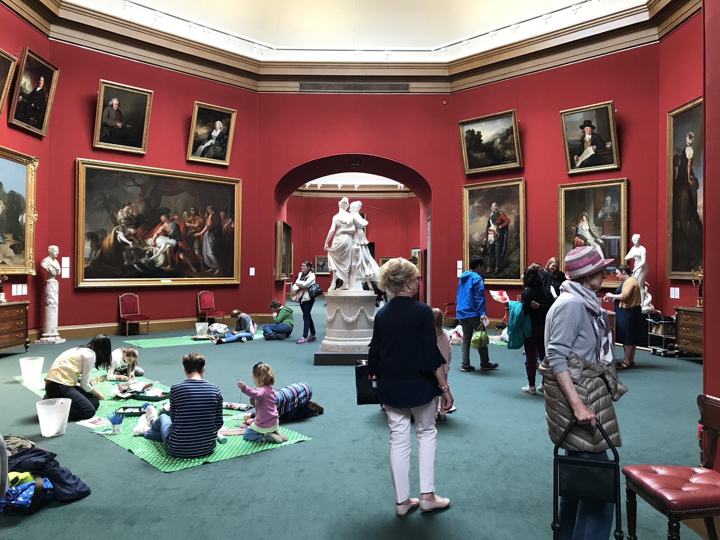 Scottish National Gallery, Edinburgh, Schotland, De Museumpodcast