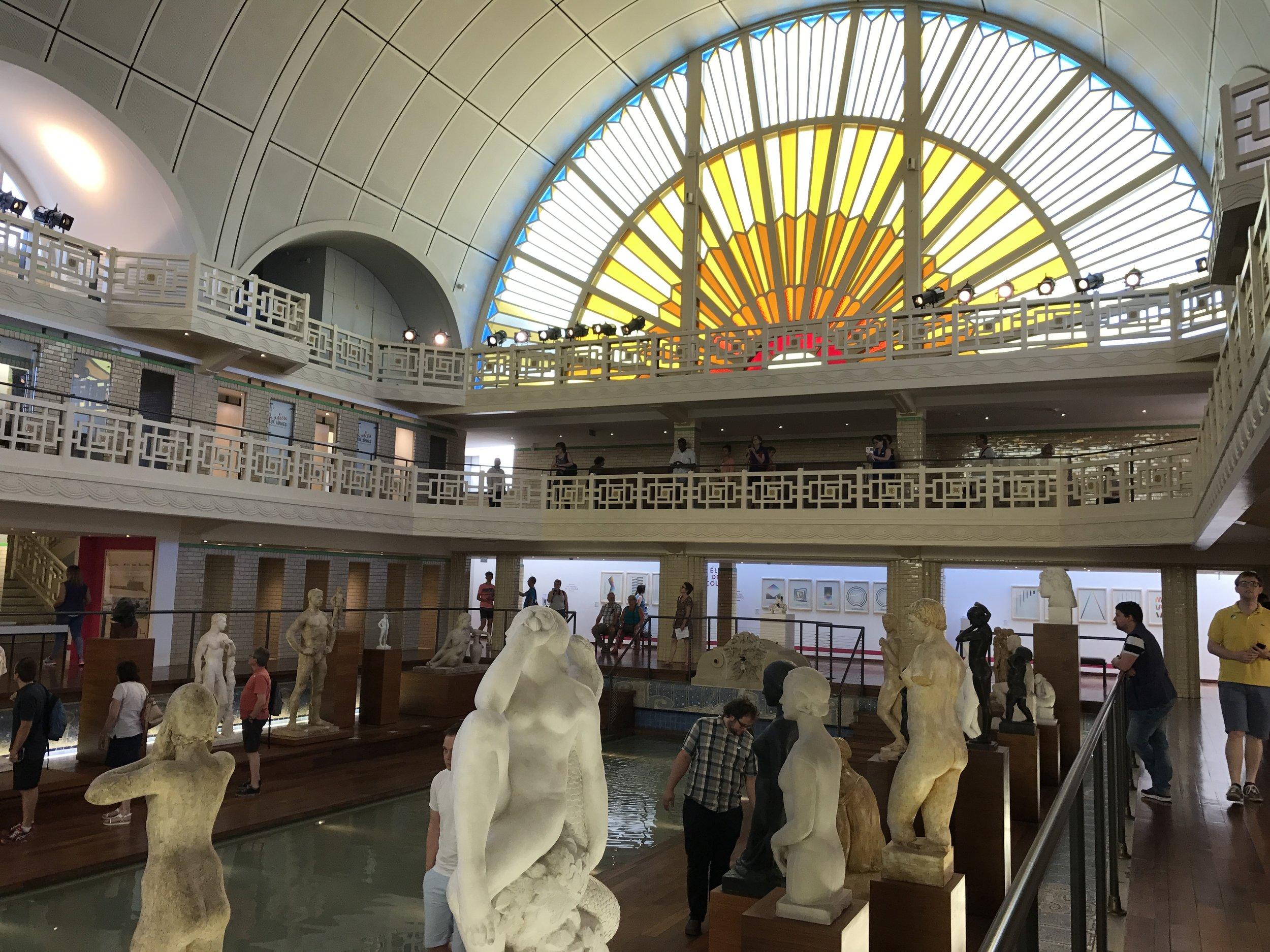 La Piscine, Roubaix, De Museumpodcast