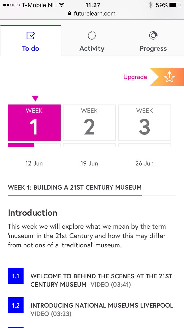 MOOC, 21st centruy museum, De Museumpodcast
