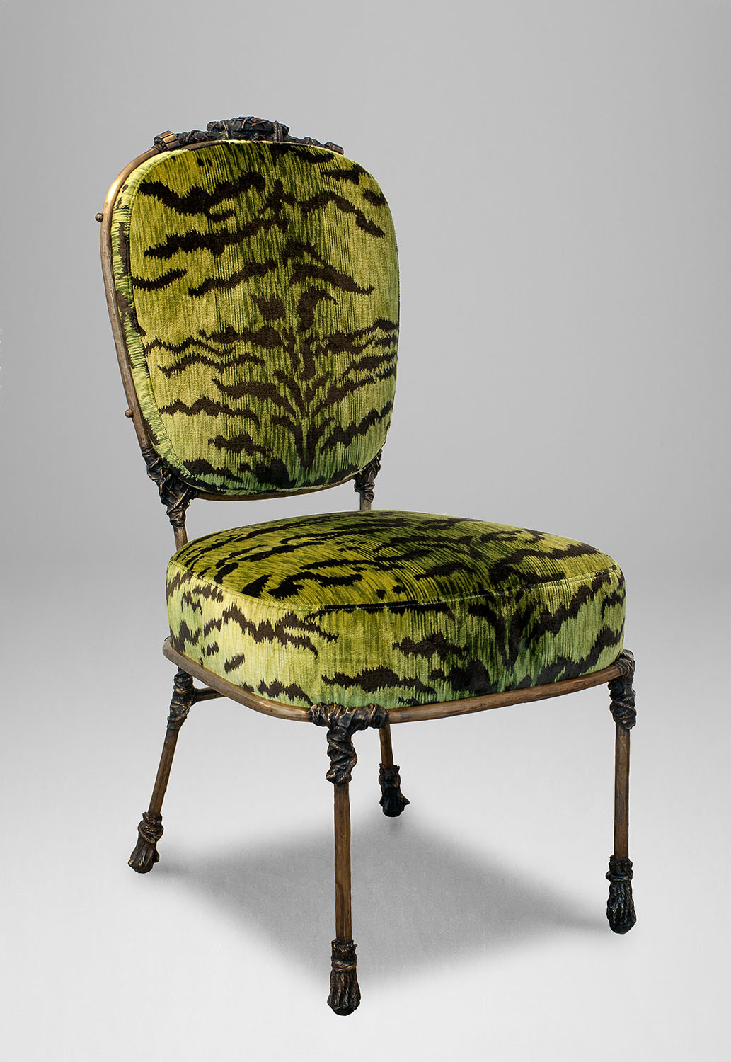 1. MB Chair 'Congo' Green Leopard.jpg