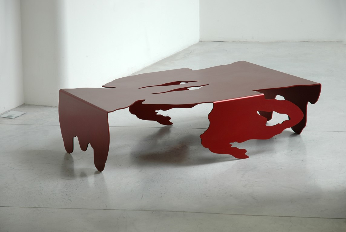 1. FS Table 'Aluminium' Series II (Bordeaux).JPG