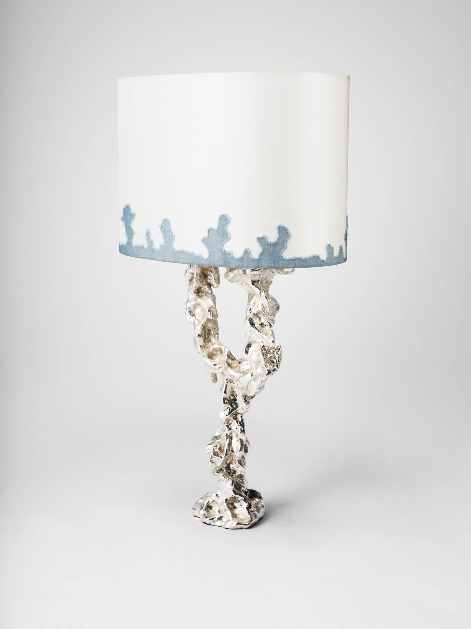 4. MB Table Lamp 'Grotto' blue applique.jpg