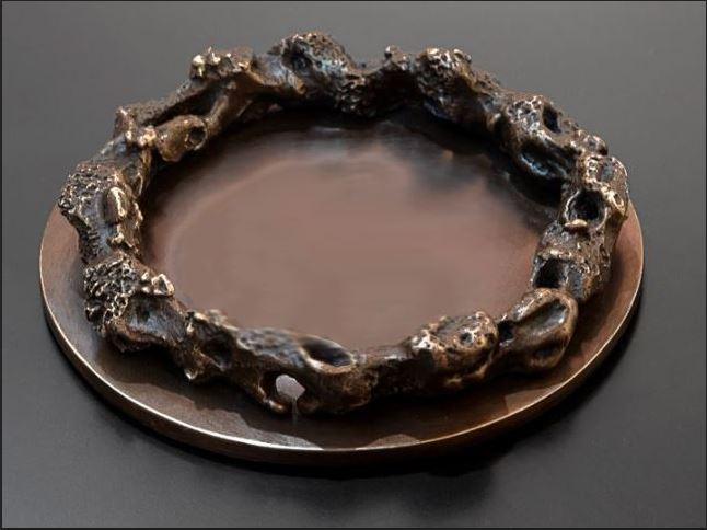 1. MB Dish 'Grotto' Circular - Brown-1.JPG