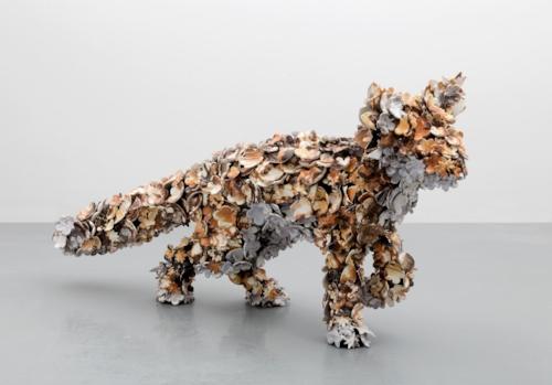 Barnaby Barford Sculpture 'Tottenham Fox 04' 2015