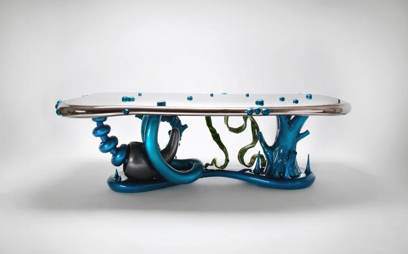 Mattia Bonetti Table 'Abyss' 2004