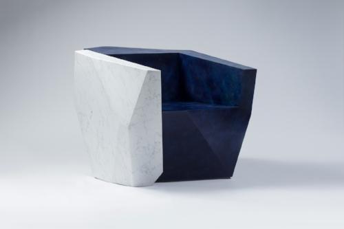 Daniel Libeskind Armchair 'Elemental Split Unit'