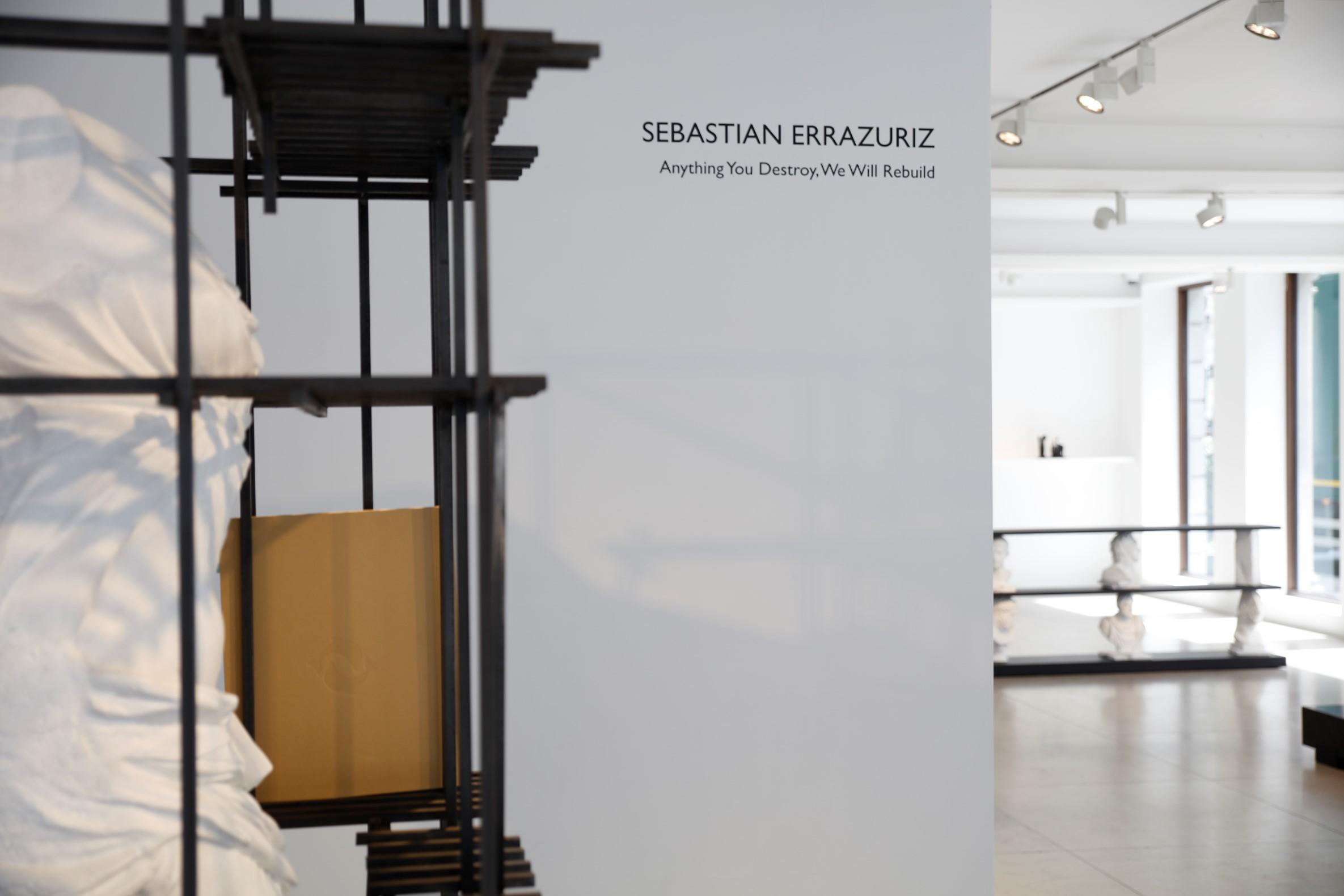 Installation Image, Sebastian ErraZuriz 'Anything You Destroy, We Will Rebuild' at David Gill Gallery